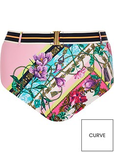 ri-plus-ri-plus-pink-chain-print-high-waist-bikini-brief-pink