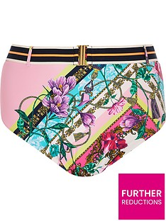 ri-plus-ri-plus-pink-chain-print-high-waist-bikini-brief-pink