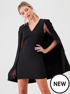 river-island-river-island-cape-sleeve-bodycon-dress-black