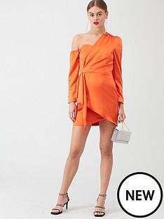 river-island-drape-one-shoulder-dress