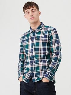 farah-oversize-check-utility-shirt-bluegreenpink