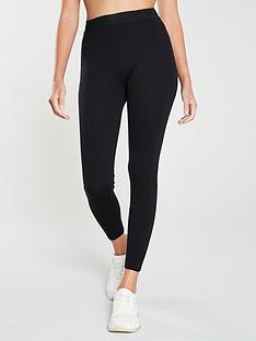 river-island-river-island-elastic-waist-skinny-leggings-black