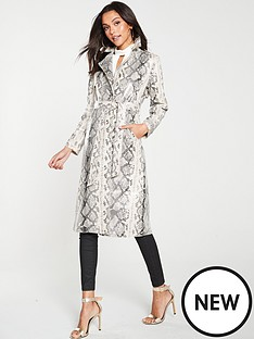 river-island-river-island-snake-print-patent-trench-coat-neutral