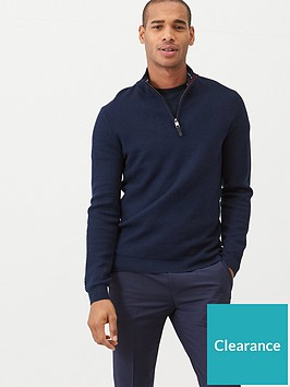 ted-baker-tunnel-textured-funnel-neck-jumper-navy