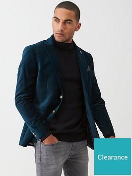 ted-baker-nightowl-velvet-jacket-teal