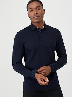 ted-baker-long-sleeve-polo-shirt-navy