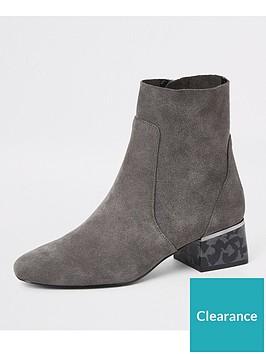 river-island-river-island-printed-heel-suede-block-heel-boots-grey