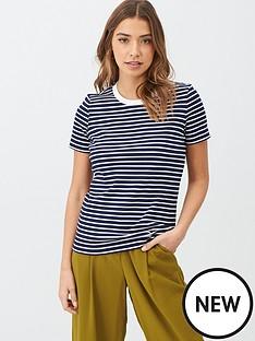 v-by-very-contrast-rib-stripe-t-shirt-navywhite