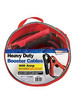 streetwize-accessories-25m-hd-500amp-booster-cable-suitable-for-up-to-4000cc
