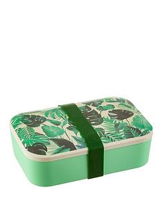sass-belle-botanical-leaf-adult-bamboo-lunch-box-with-silicone-band