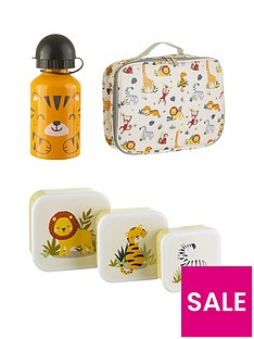 sass-belle-savanna-safari-set-of-3-lunchboxes-water-bottle-lunch-bag