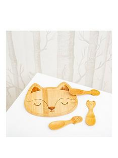 sass-belle-woodland-baby-bamboo-tableware-set