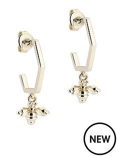 ted-baker-bedza-bumble-bee-hoop-earrings-light-gold