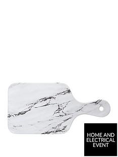 kitchencraft-marble-effect-rectangular-melamine-food-serving-board