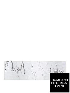 kitchencraft-marble-effect-rectangular-melamine-food-serving-platter
