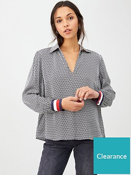 tommy-hilfiger-long-sleeve-demi-blouse