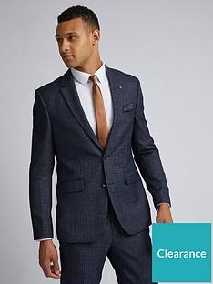 burton-menswear-london-burton-grindle-check-slim-suit-jacket-navy