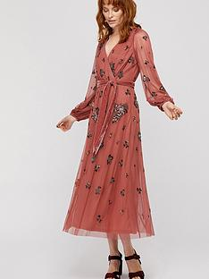 monsoon-monsoon-rosanna-emb-balloon-sleeve-midi-dress