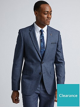 burton-menswear-london-burton-textured-slim-suit-jacket-blue