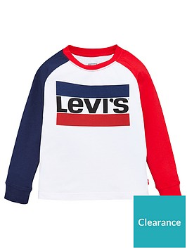 levis-boys-long-sleeve-colourblock-logo-t-shirt-white