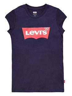 levis-girls-short-sleeve-batwing-t-shirt-navy