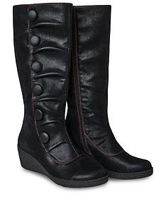joe-browns-bold-and-beautiful-wedge-boots-black
