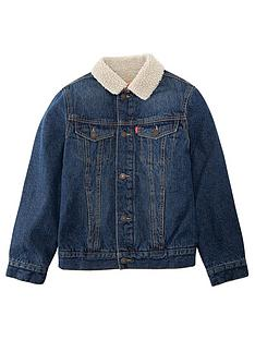 levis-boys-denim-sherpa-trucker-jacket-blue