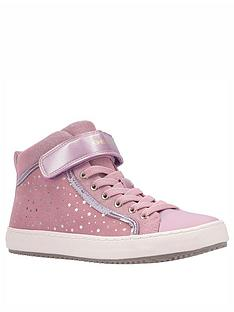 geox-kalispera-high-top-trainers-rose-gold