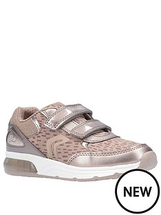 geox-girls-spaceclub-strap-trainers-gold