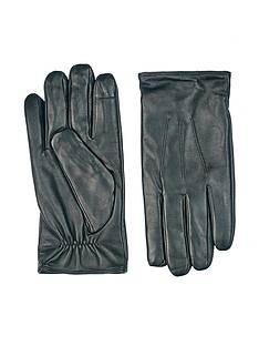 burton-menswear-london-leather-gloves-blacknbsp