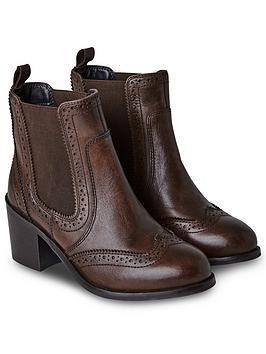 joe-browns-dapper-debbie-leather-chelsea-boots-brown