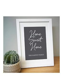 signature-gifts-personalised-home-sweet-home-a4-framed-print
