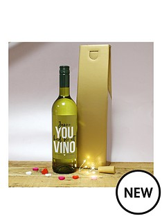 personalised-white-vino-in-gold-box