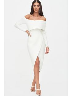 lavish-alice-bandage-shoulder-wrap-dress-white