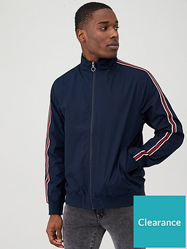 very-man-side-tape-cotton-harrington-jacket-navy