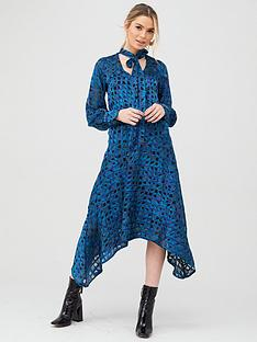 v-by-very-burnout-printed-midi-dress-print