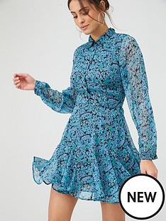 v-by-very-georgette-shirt-dress-ditsy