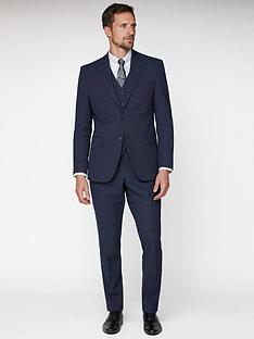jeff-banks-jeff-banks-texture-travel-suit-jacket-in-regular-fit-navy
