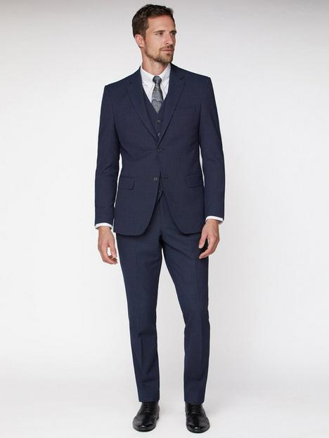 jeff-banks-texture-travel-suit-jacket-navy