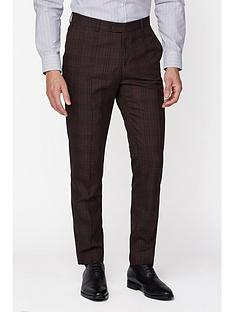jeff-banks-jeff-banks-bold-check-brit-suit-trousers-in-super-slim-fit-burgundy