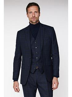 jeff-banks-jeff-banks-jaspe-check-ivy-league-suit-jacket-in-slim-fit-blue
