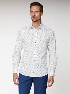 jeff-banks-jeff-banks-white-geo-floral-print-slim-fit-shirt