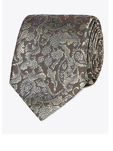 jeff-banks-baroque-silk-tie-yellow