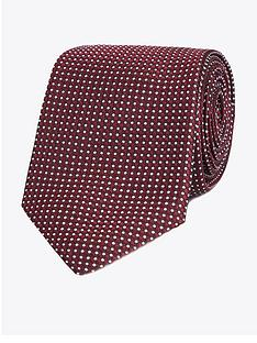 jeff-banks-geo-silk-tie-wine