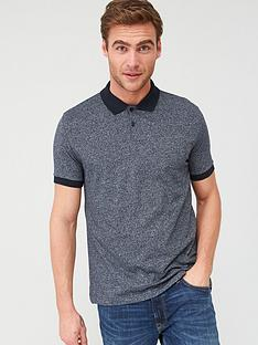 v-by-very-textured-polo-shirt-navy