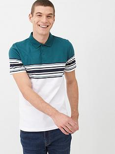 v-by-very-multi-placement-stripe-polo-shirt-teal