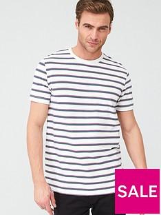 v-by-very-striped-pique-t-shirt-white