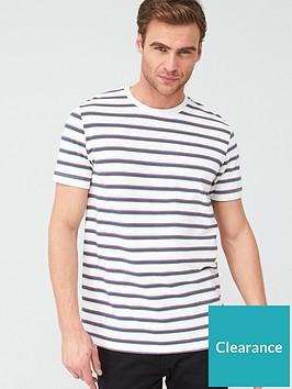 very-man-striped-pique-t-shirt-white