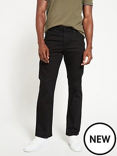 very-man-straightnbspjeans-with-stretchnbsp--black
