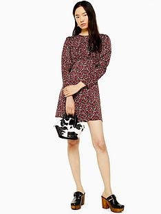 topshop-topshop-austin-mini-dress-red